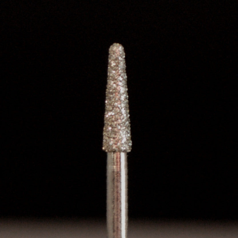 A&M Instruments Multi-Use FG Diamond Dental Bur 2.1mm Round End Taper - M33 - A & M Instruments Quality Diamond Tools