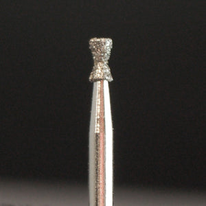 A&M Instruments Single Patient Use FG Diamond Dental Bur 1.4mm Double Inverted Cone (Hourglass) - M6 - A & M Instruments Quality Diamond Tools
