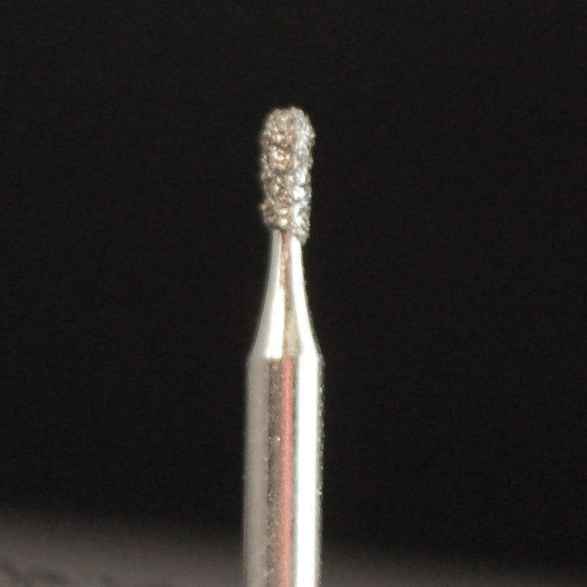A&M Instruments Single Patient Use FG Diamond Dental Bur 1.0mm Pear - P2 - A & M Instruments Quality Diamond Tools