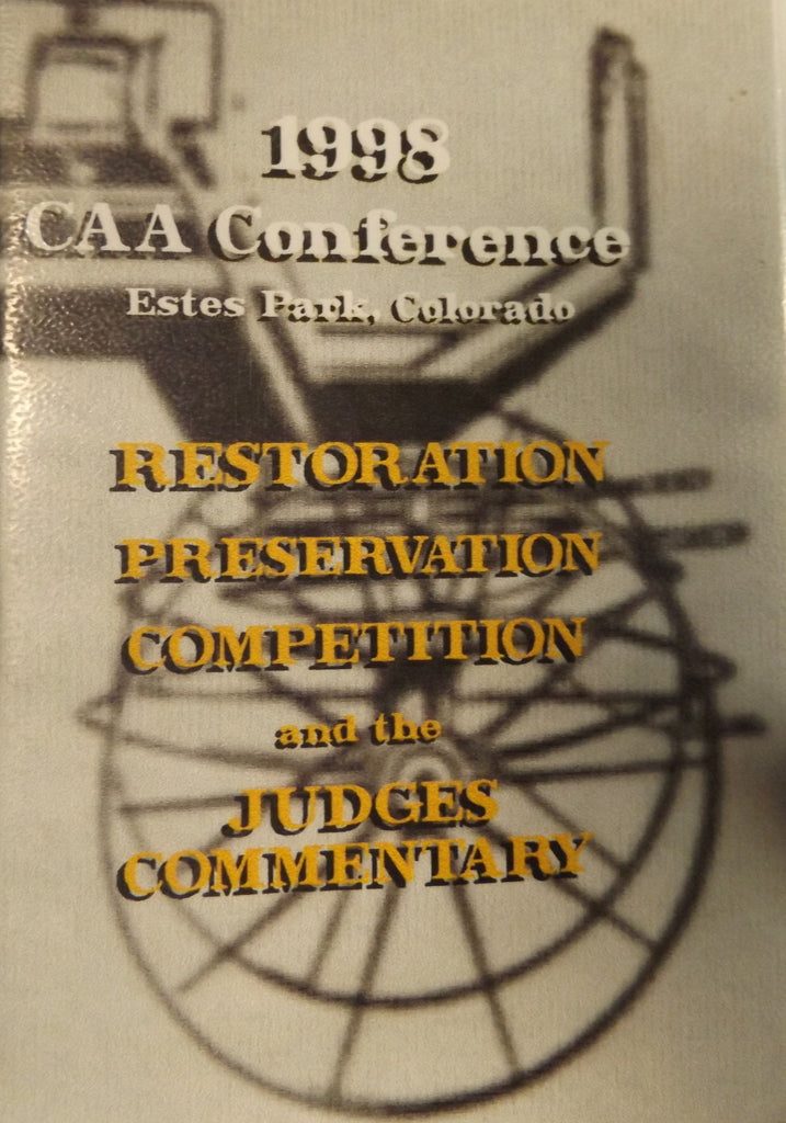 VHS - 1998 CAA Conference