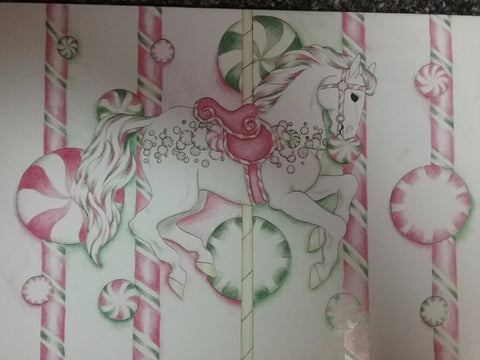 Peppermint Note Cards