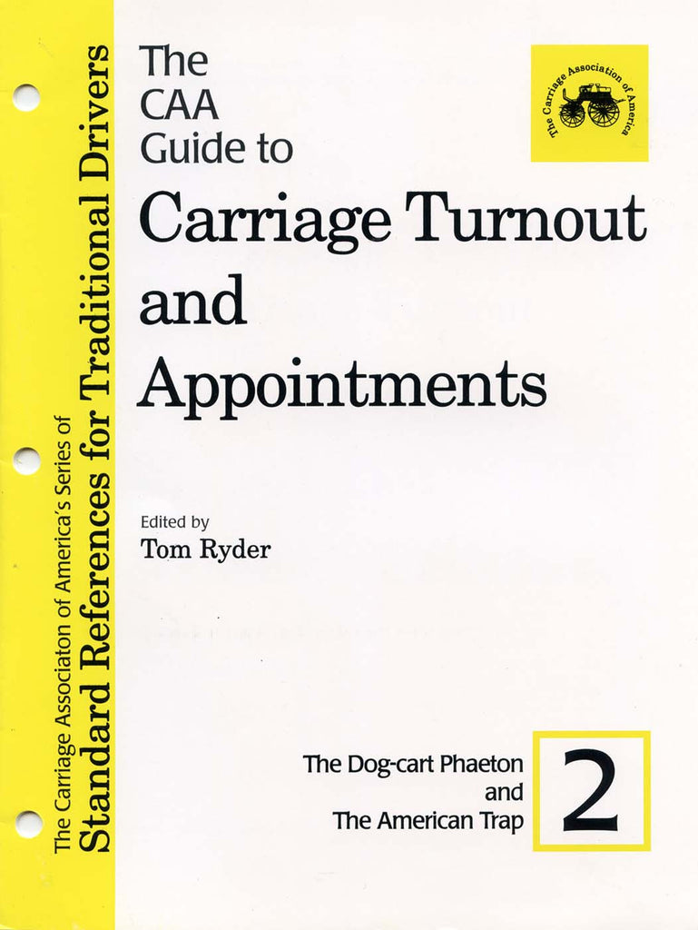 CAA Turnout Guides #2: Dog-cart Phaetons & American Traps