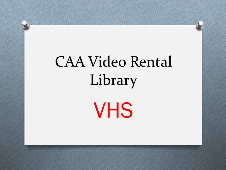 2003-1 Livery Video (Conference) - VHS Rental