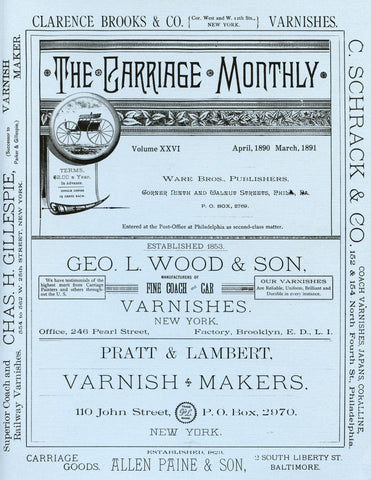 Carriage Monthly Reprints: April 1890