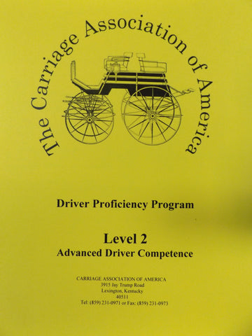 CAA Driver Proficiency Syllabus - Level 2