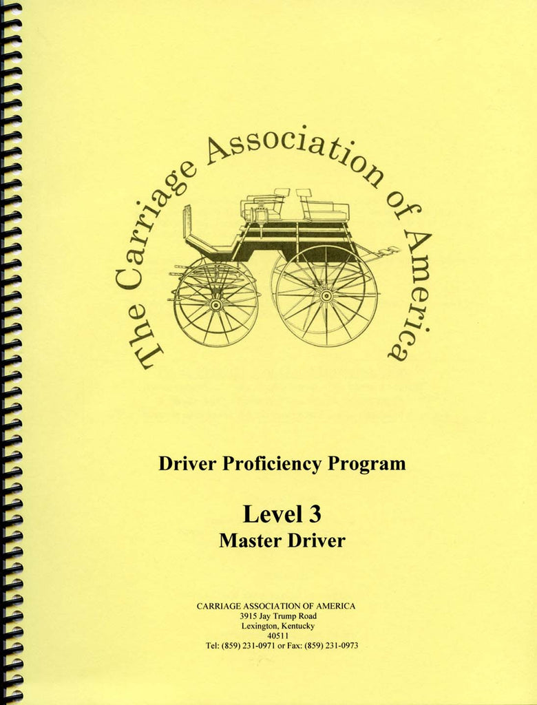 CAA Driver Proficiency Syllabus - Level 3