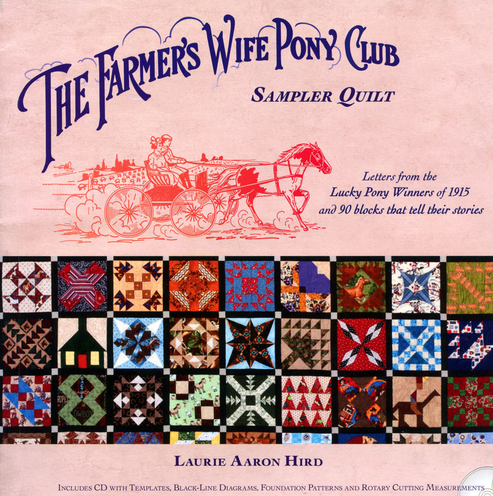 Farmer's Wife Pony Club Sampler Quilt