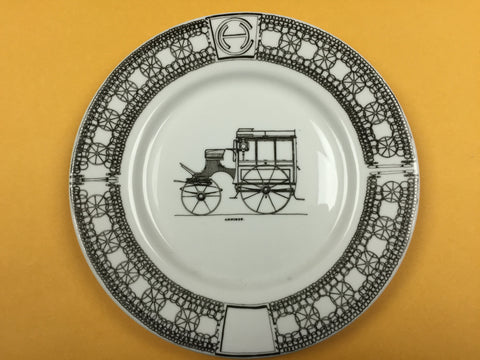 Hand-painted Porcelain Plates (8-inch)