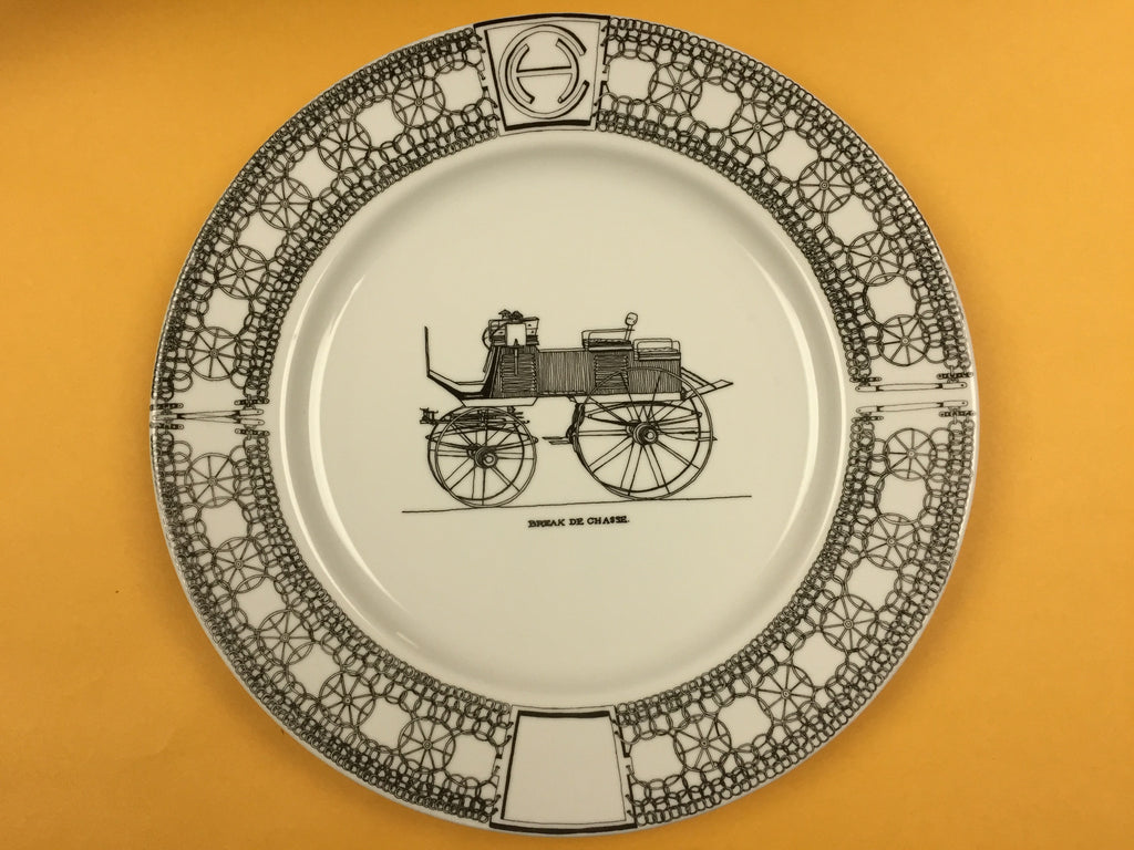 Hand-painted Porcelain Plates (7-inch)