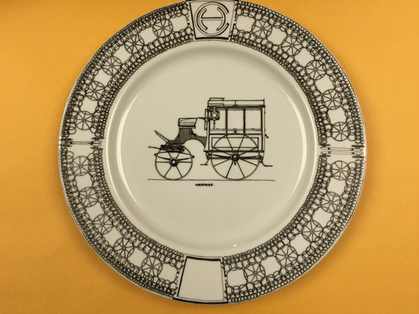Hand-painted Porcelain Plates (12-inch)