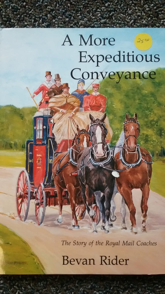 A More Expeditious Conveyance - Books