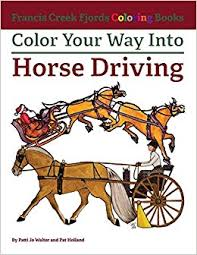 Color Your Way Into Horse Driving