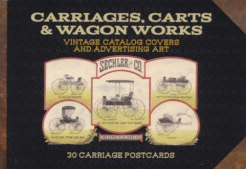 Carriages, Carts & Wagon Works: Postcard Book