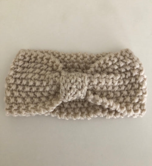 Crotchet headband