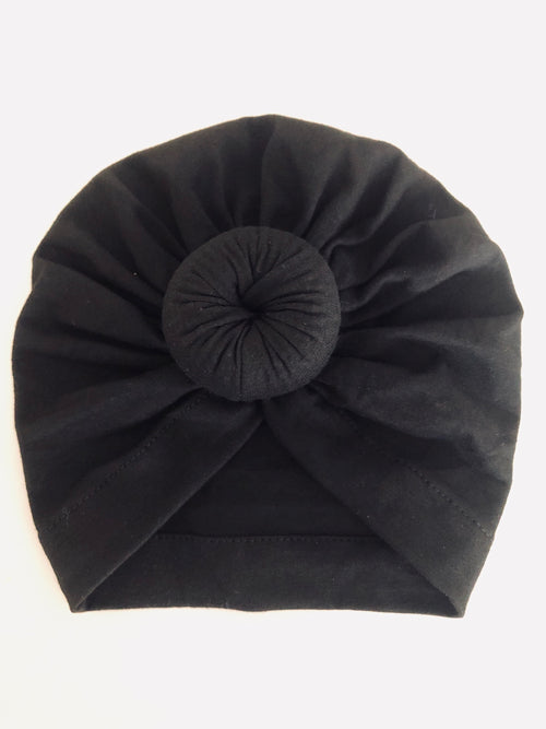 Midnight Baby Turban
