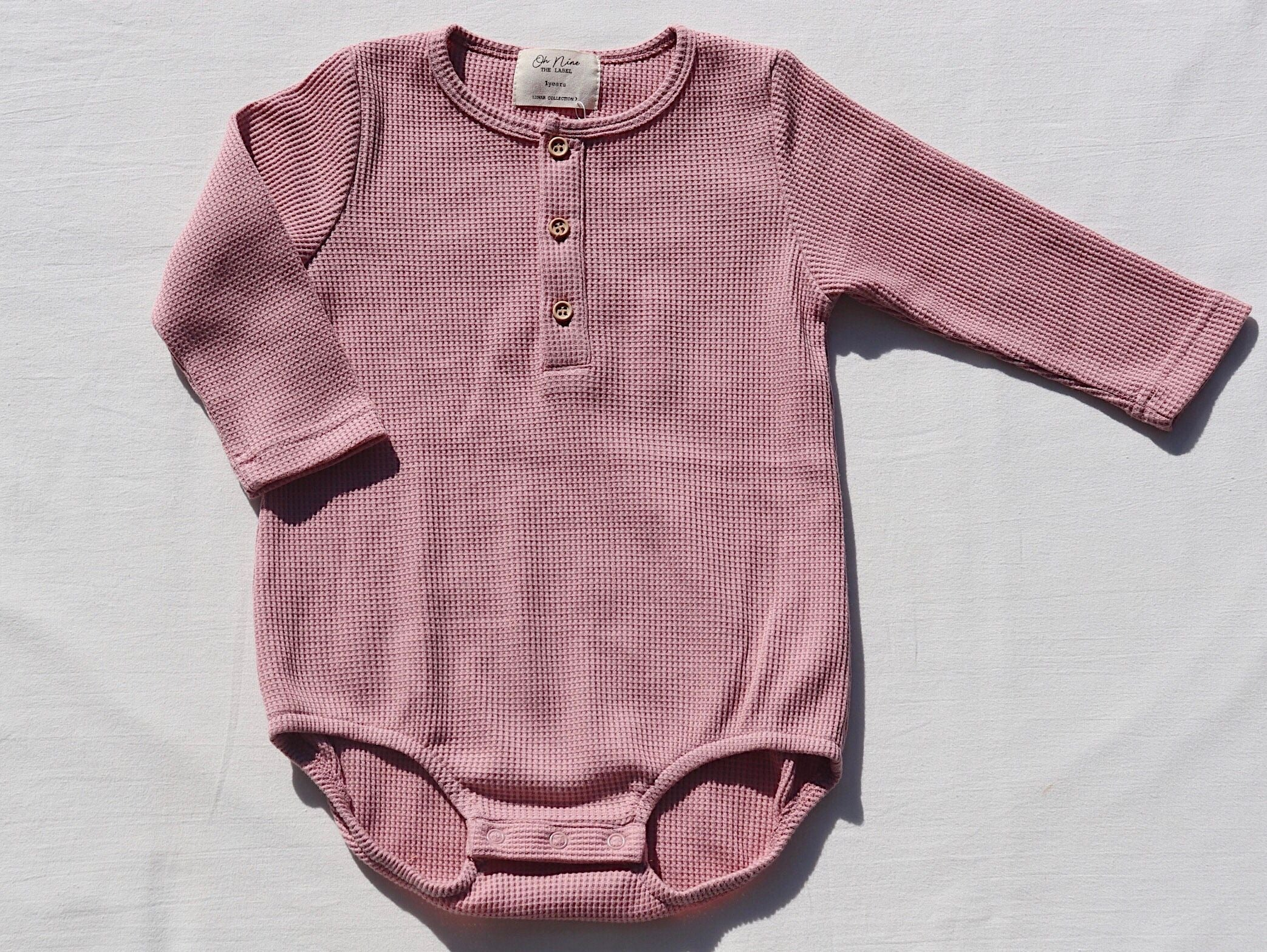 Long Sleeve Bubble Suit Camellia