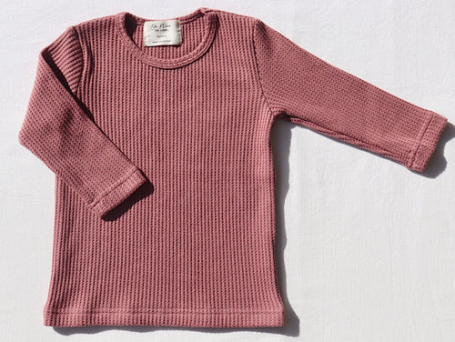 Long Sleeve Basic Tee Mulberry