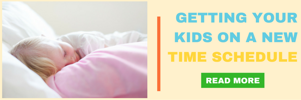 Getting Your Kids on the New Time Change Schedule