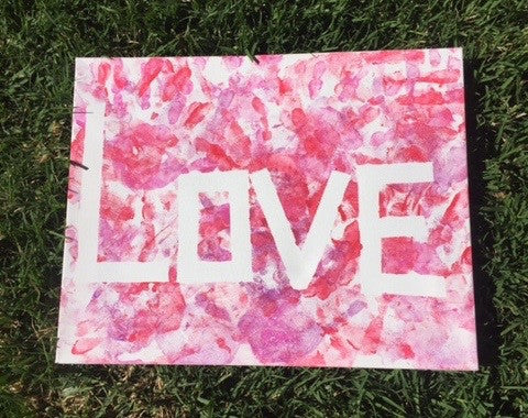 Valentines Day Painting Craft