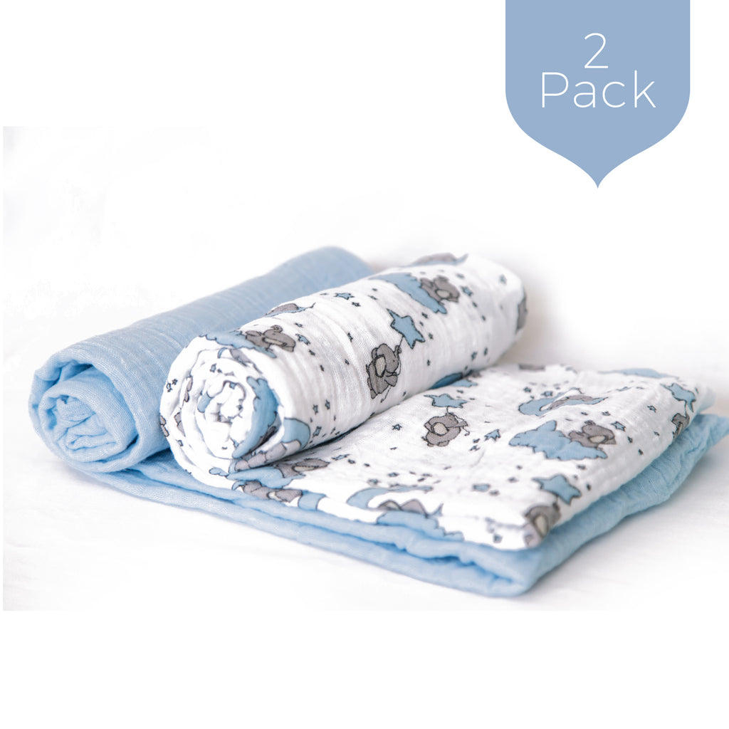 Blue Skies - Swaddle Set (2 Pack)