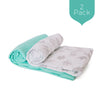 Teal Owls Swaddle Set (2 Pack)