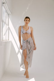 Blush and Blue Sarong