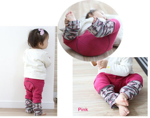 Monkey Pants 2701 - wine, red, pink, peach, brown, ivory