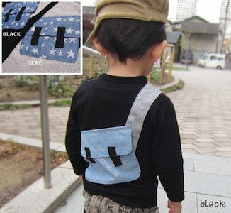 Long sleeve shirts w/ back pack 3952
