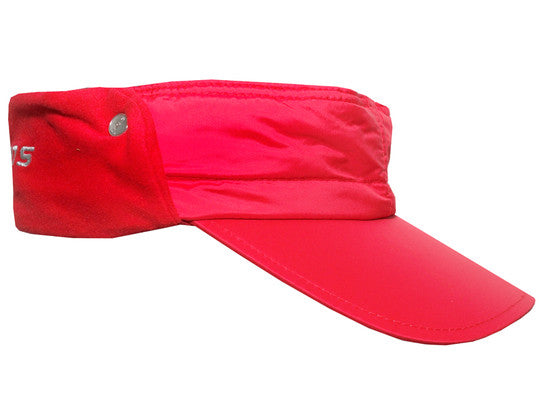 Daily Sports Wind Visor in Red