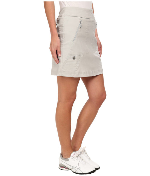 Womens Jamie Sadock Skinnyliscious Pull On Skort Dove - North Shore Golf Centre