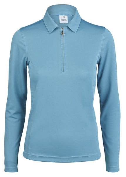 Womens Daily Sports Long Sleeve Macy Polo
