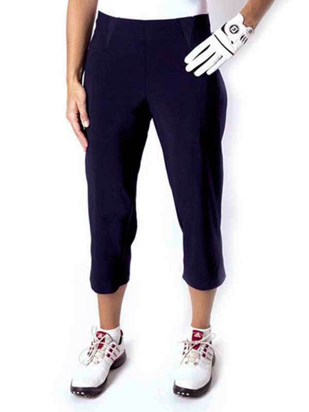 Womens Birdee Slide On Capri in Navy - North Shore Golf Centre