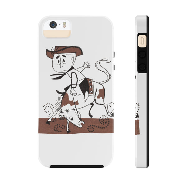"""Lil' Rodeo"" Tough Phone Cases"