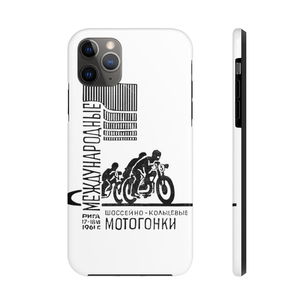 """Cold War Moto Club 2"" Tough Phone Cases"
