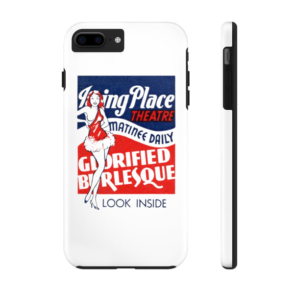 """Irving Place Theatre"" Tough Phone Cases"