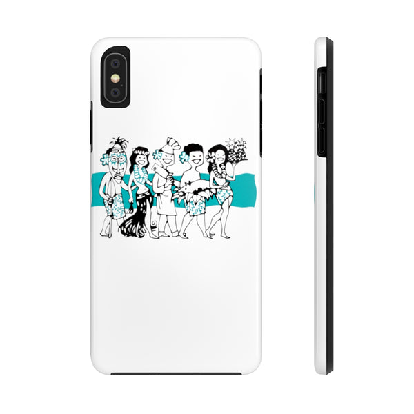 """Luau Party"" Tough Phone Cases"