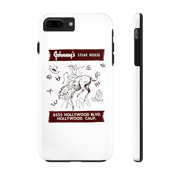 """Johnny's Steakhouse"" Tough Phone Cases"