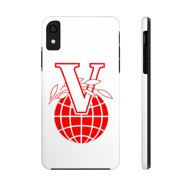 """V Logo 1"" Tough Phone Cases"