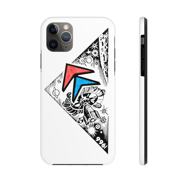 """1966 Rocket"" Tough Phone Cases"