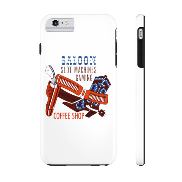 """Pony Express Saloon"" Tough Phone Cases"
