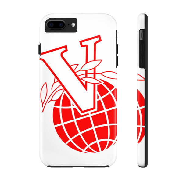 """V Logo 2"" Tough Phone Cases"