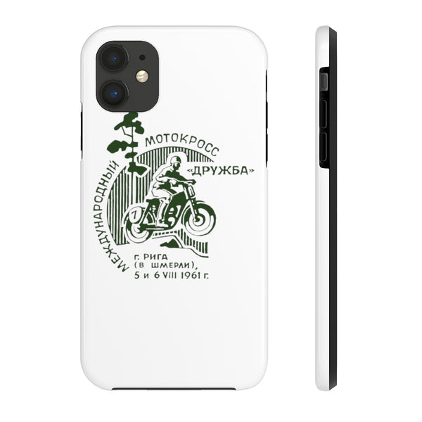 """Cold War Moto Club 1"" Tough Phone Cases"