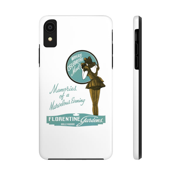 """Florentine Gardens""  Tough Phone Cases"