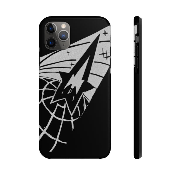 """Globe & Rocket"" Tough Phone Cases"