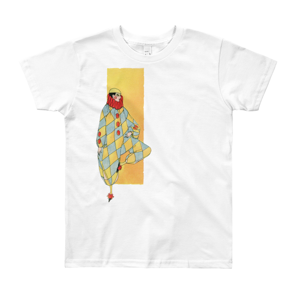 """Harlequin"" Kids & Youth Short Sleeve T-Shirt"