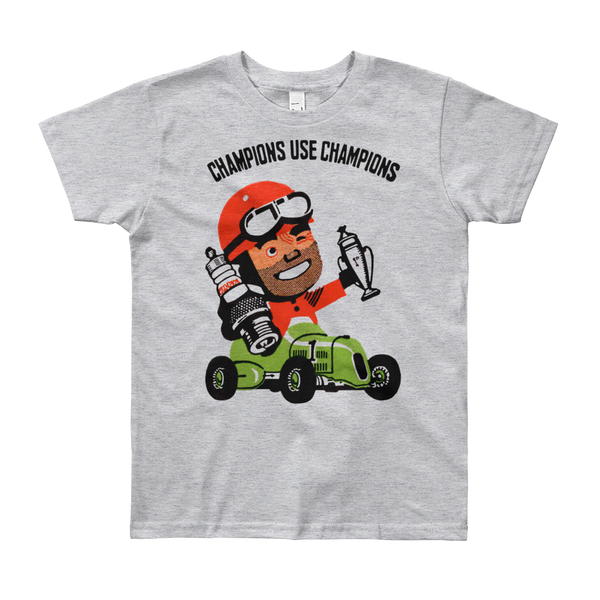 """Champions"" Kids & Youth Short Sleeve T-Shirt"