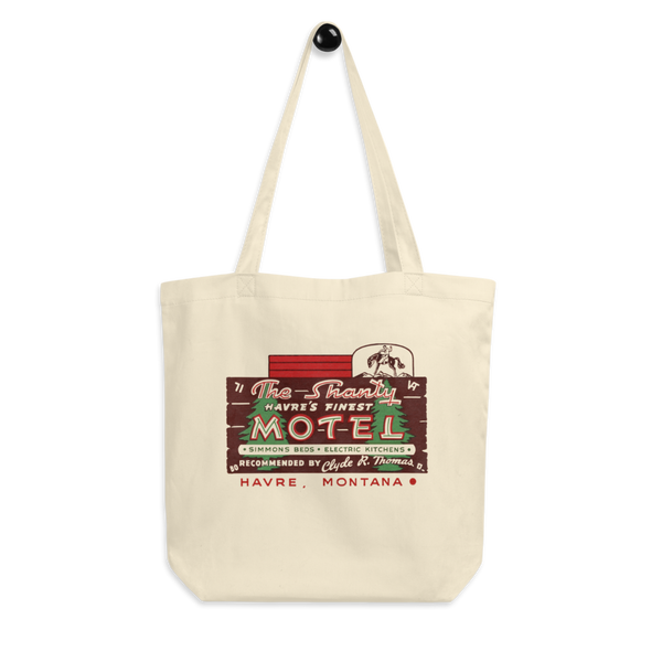 "The Shanty Motel"" Eco Tote Bag"