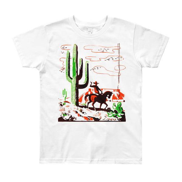 """The Ranch"" Kids & Youth Short Sleeve T-Shirt"