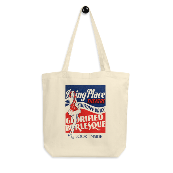 """The Irving Place Theatre"" Cotton Tote Bag"