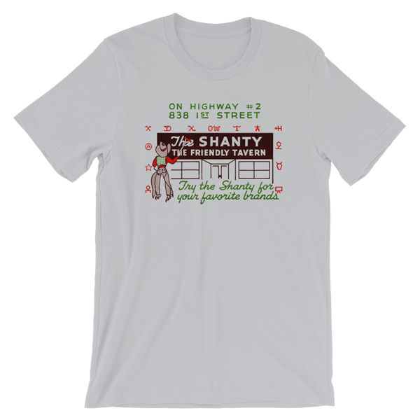 """The Shanty Tavern"" Men's Short-Sleeve T-Shirt"
